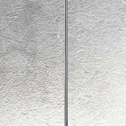 Opal white Italian glass and chrome floor lamp from Micron