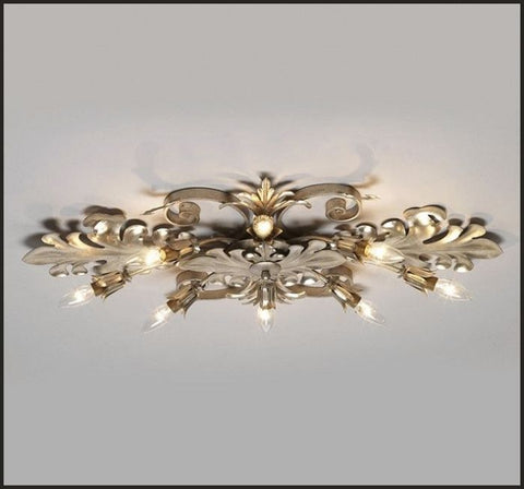 Gold & silver designs metal ceiling light
