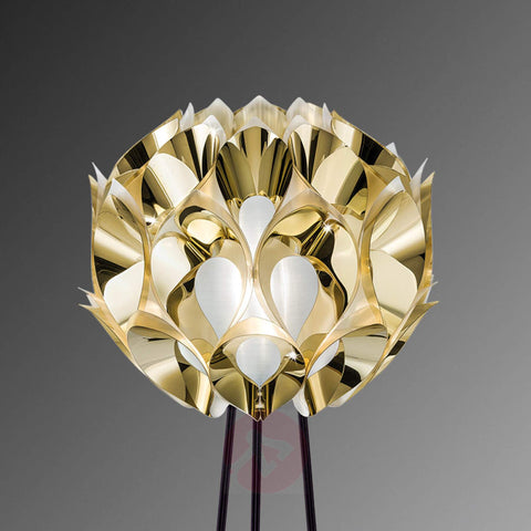 Flora gold, copper, silver, or pewter floor lamp from Slamp