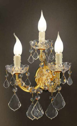 3-Arm Wall Sconce