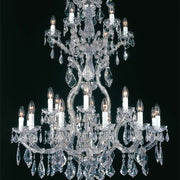 Maria Theresa Scholer crystal chandelier from Arlati