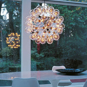 Taraxacum 88S ceiling pendant from Flos with 60 bulbs