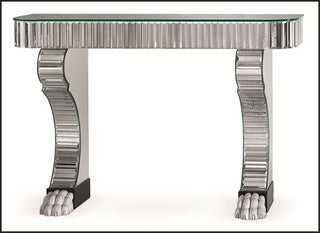 French Art Deco Styletable Serge Roche Console Table Italian Lighting Centre