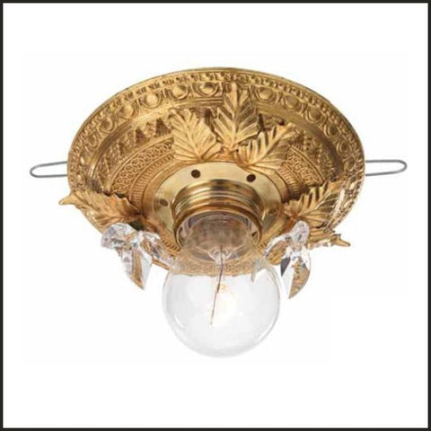 Gold Ceiling Light with Beautiful Designs & Swarovski Elements