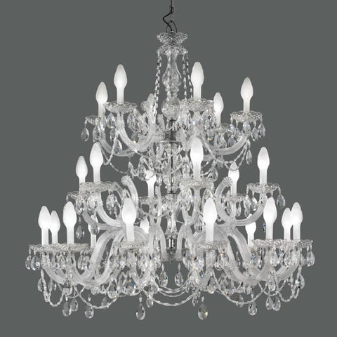 Masiero DRYLIGHT S24 waterproof crystal chandelier
