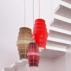 Small  Zoe ceiling pendant from Venini in 3 colours