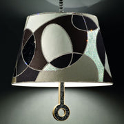 Luxurious 70s style patchwork ceiling pendant