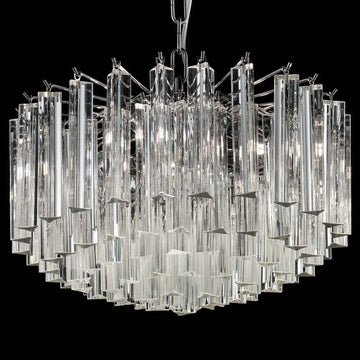 Murano glass art chandelier with Swarovski & Austrian crystals [4935]