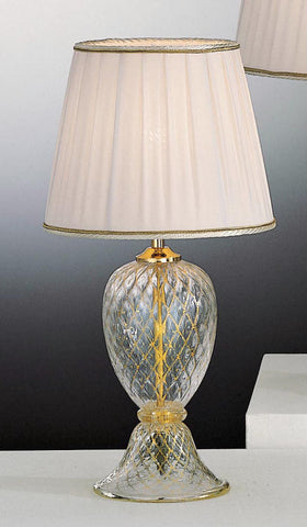 Classic Venetian handblown glass lamp base