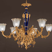 6 Light Porcelain Chandelier