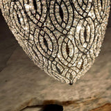 Customizable modern cluster chandelier with Asfour crystals