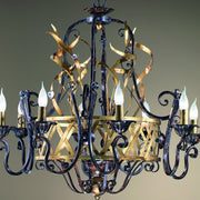 Wrought Iron Modern Crown