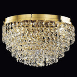 Crystal Glass Ceiling Light