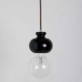 Modern Black Wenge Finished Chess Knight Suspension Ceiling Ligh