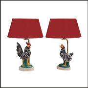 Cockerel table lamp