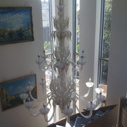 Two Tier Murano Glass Chandelier