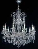 Maria Theresa 3380/10 Scholer crystal chandelier from Arlati