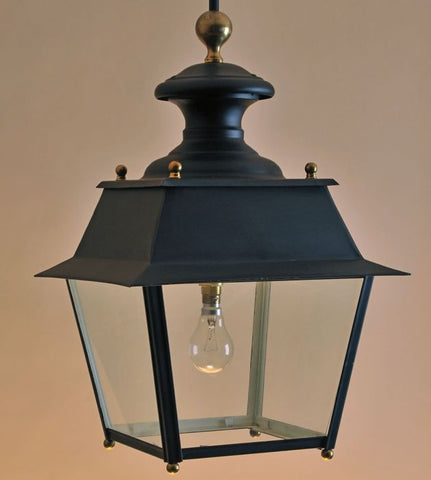 Painted hanging lantern with more custom finishes