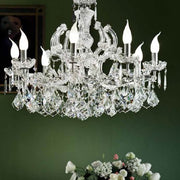 Maria Theresa Chandelier in Chrome Finish