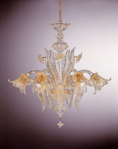 Traditional Murano Glass Chandelier