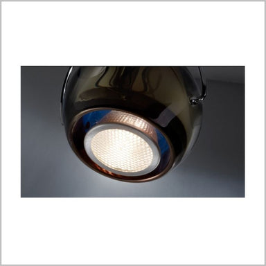 Beluga D57 Colour D03 wall spot light in 6 colours from Fabbian