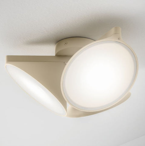Axo Light Orchid Scandi-style ceiling light in sand