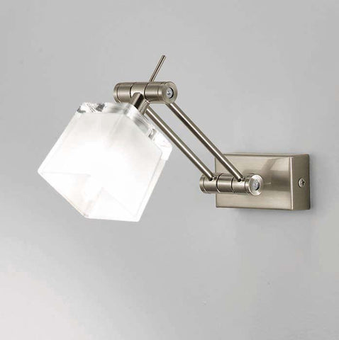 Brushed Nickel Wall Light