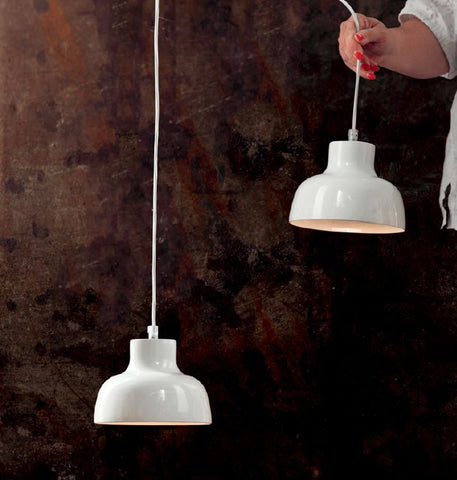 Italian designer pendant light in hundreds of colours