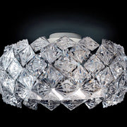 Acrylic glass flush ceiling light by Patrizia Volpato