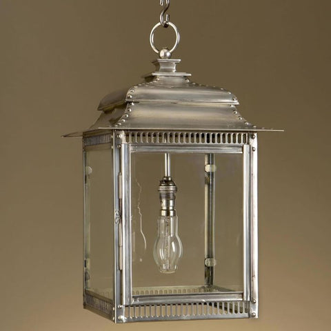 Modern home and garden lantern with custom finishes