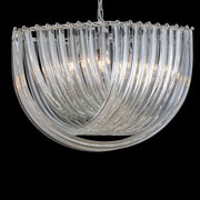 Elegant large modern Venetian glass ceiling pendant in three sizes