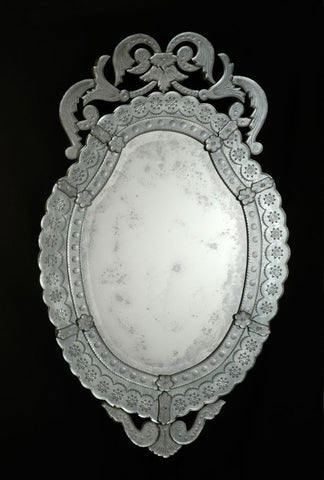 Intricate Venetian Wall Mirror