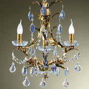 Traditional Cut Glass Chandelier
