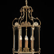 6 Light French Gold Lantern
