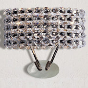 Modern Italian crystal wall lamp with Swarovski option