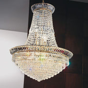 Large 24% lead crystal empire chandelier