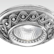 Antique Silver Plate Recessed Light