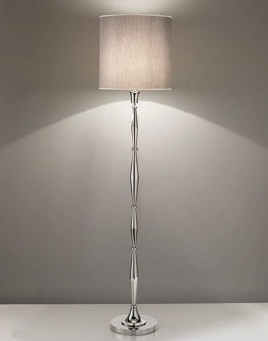 Modern Italian floor lamp with choice of shade colour