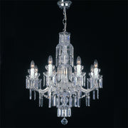 Maria Theresa 8 or 3 light Scholer crystal chandelier