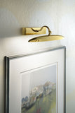 Gold Plated Picture Light