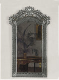 Impressive tall Venetian wall mirror in the baroque styleDelicat