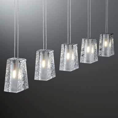 Vicky A05 5-light ceiling pendant from Fabbian