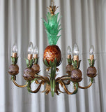Murano glass pineapple chandelier