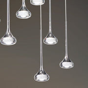 Fairy SP12 R canopy light in 3 glass colours from Axo Light