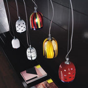 Murano glass ceiling pendant - 14 colours & designs
