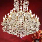 Maria Theresa Chandelier with Crystal Decoration
