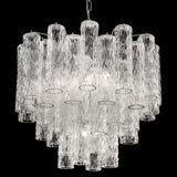 Murano corteccia glass tronchi chandelier in custom sizes