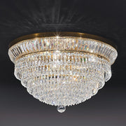 Classic 24% lead crystal ceiling light fitting