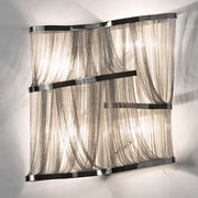 The 'Atlantis' metal stringed wall light from Terzani