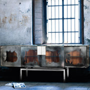 Stunning two metre long Venetian mirrored sideboard